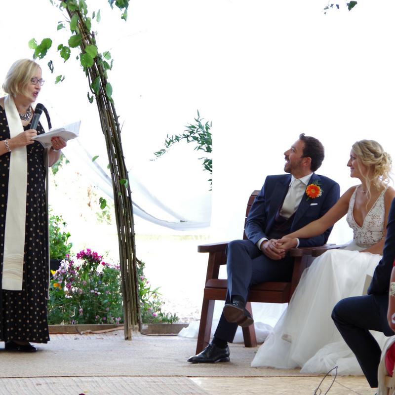 East Midlands Celebrant, Outdoors Wedding