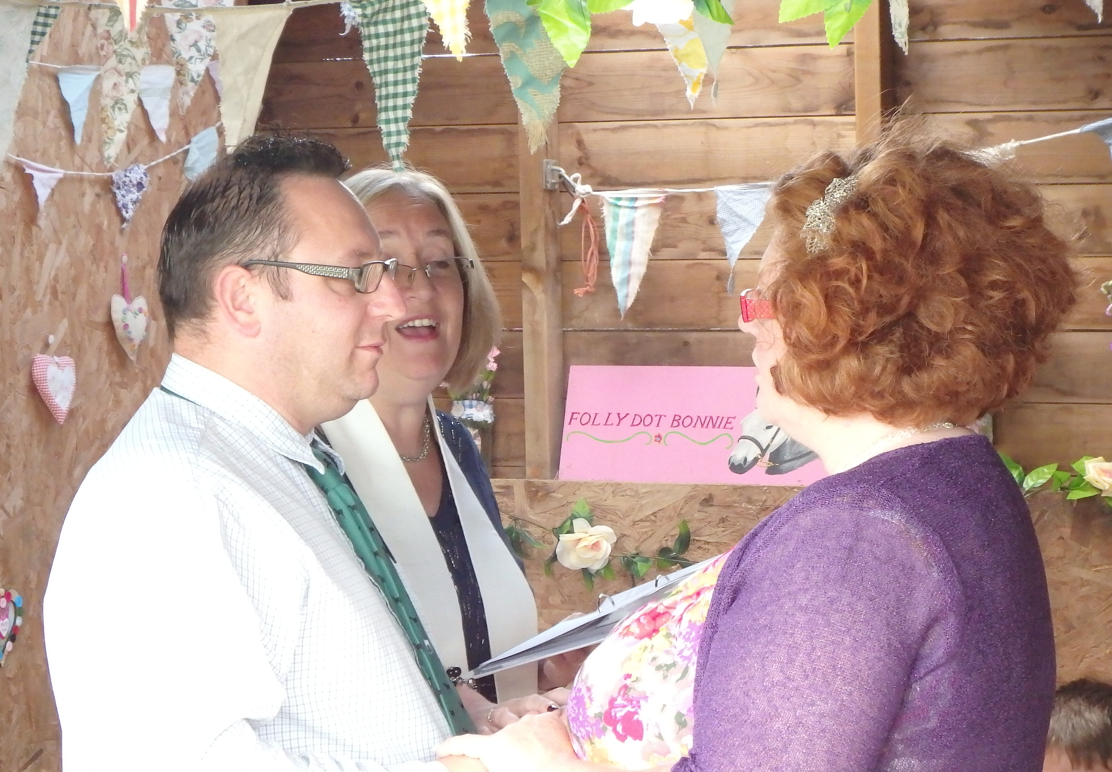Vow Renewal Lincolnshire Celebrant