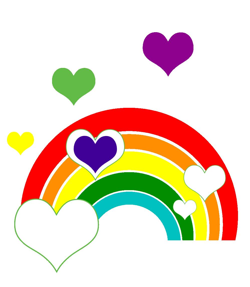 Rainbow Ruby Clipart