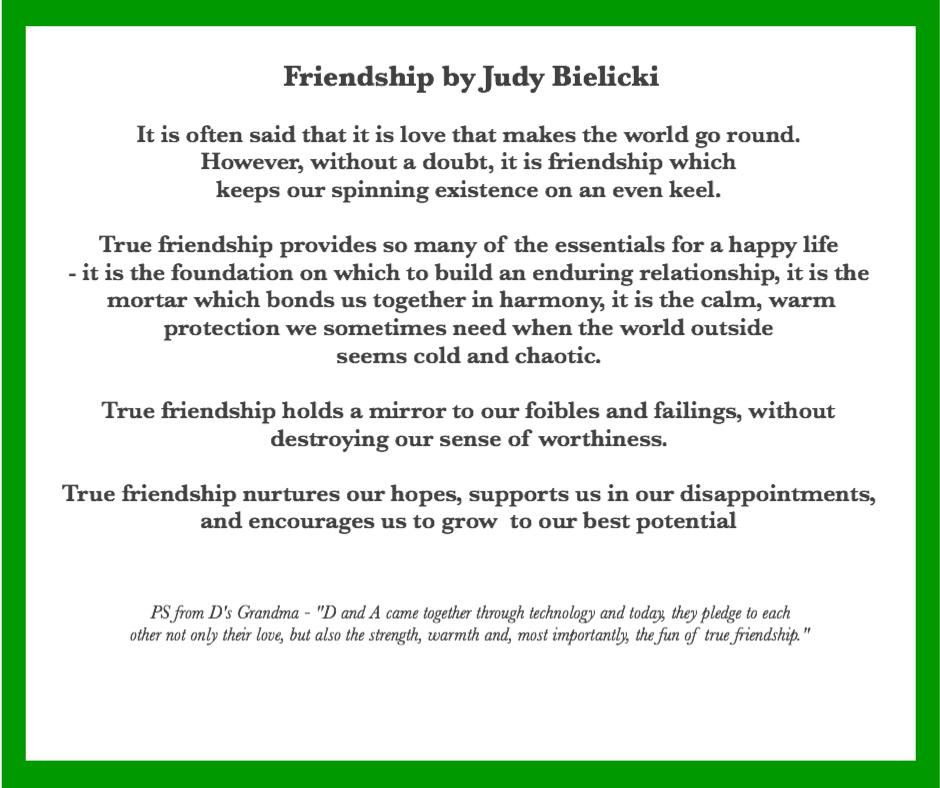 Friendship Celebrant Midlands