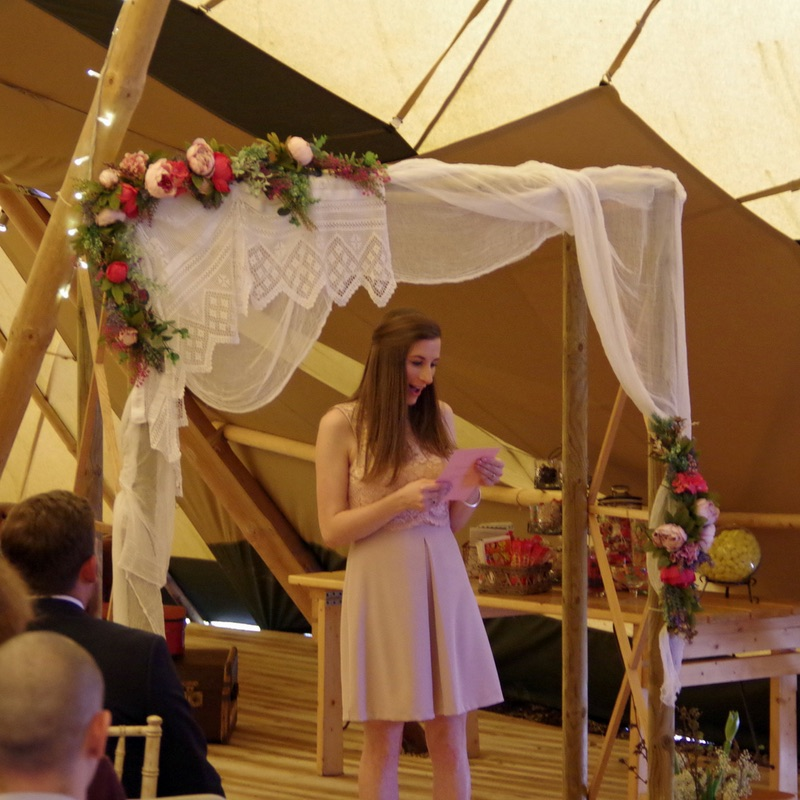 Tipi wedding Nottinghamshire
